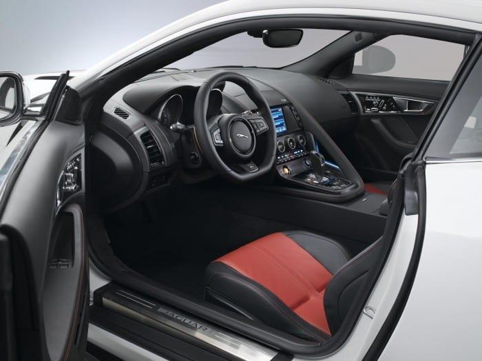 Jaguar F-Type Coupe Interior - Surf4cars