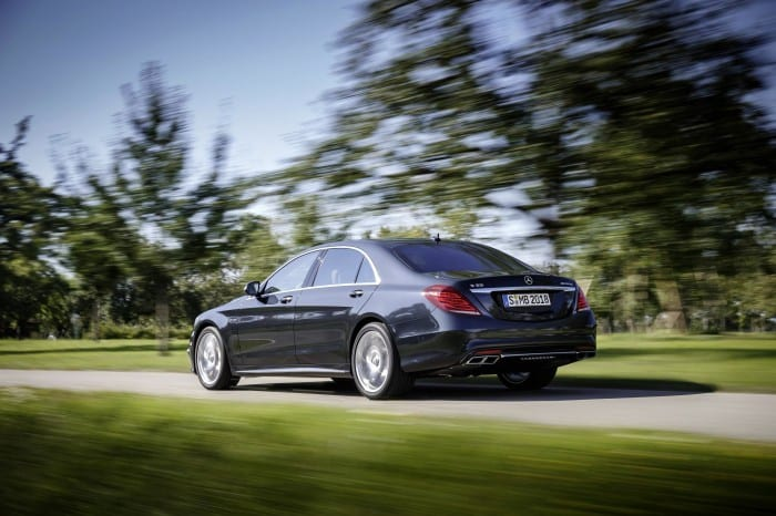 Mercedes-Benz S65 (2014) Rear - Surf4cars