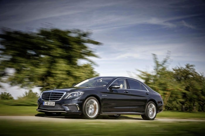 Mercedes-Benz S65 Side (2014) - Surf4cars