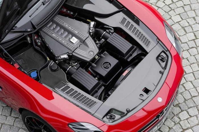Mercedes-Benz SLS AMG Engine - Surf4cars