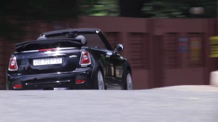 Mini Convertible JCW rear - Surf4cars
