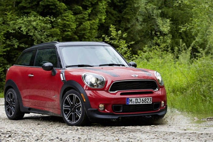 Mini Paceman Side Front - Surf4cars