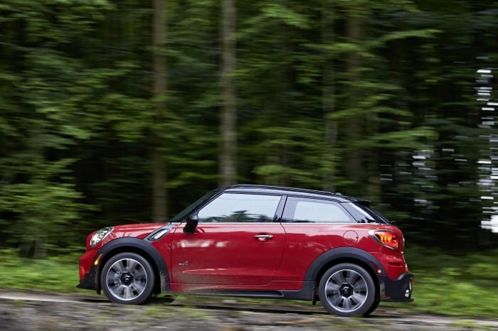 Mini Paceman Side - Surf4cars