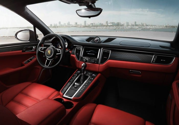 Porsche Macan Interior - Surf4cars