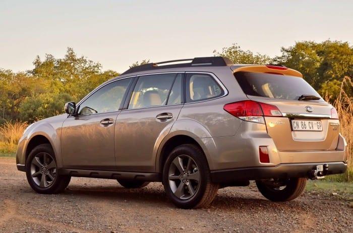 Subaru Outback Rear - Surf4cars