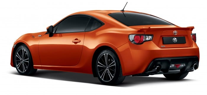 Toyota 86 rear - Surf4cars