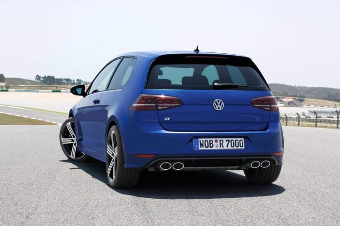 Volkswagen Golf R (2014) Rear - Surf4cars