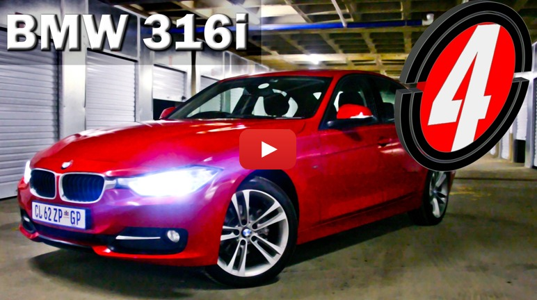 BMW 316i (2013): Video Review – Surf4cars