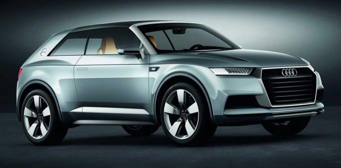 Audi Q1 Close - Surf4cars
