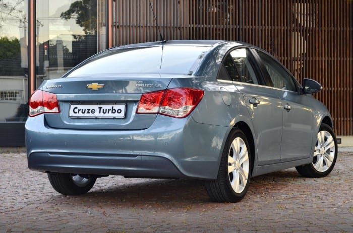 Chevrolet Cruze Rear - Surf4cars
