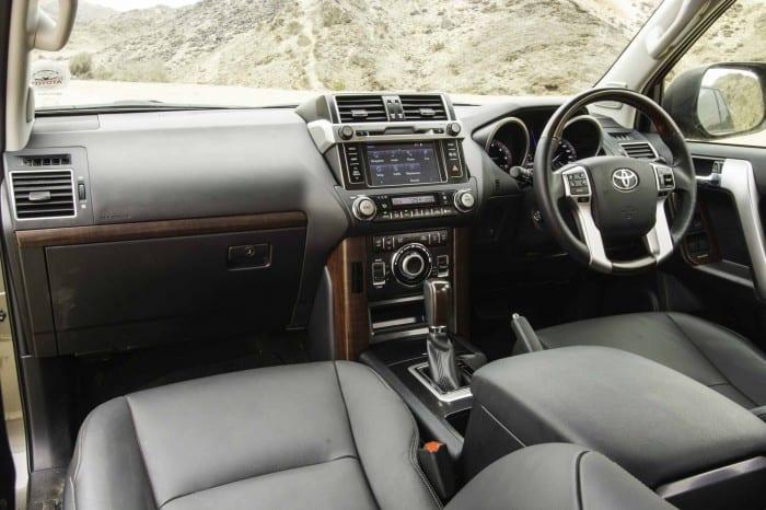 Land Cruiser Interior - Surf4cars