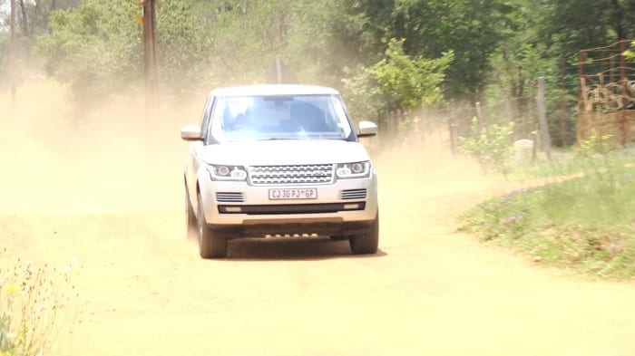 Range Rover Front - Surf4cars