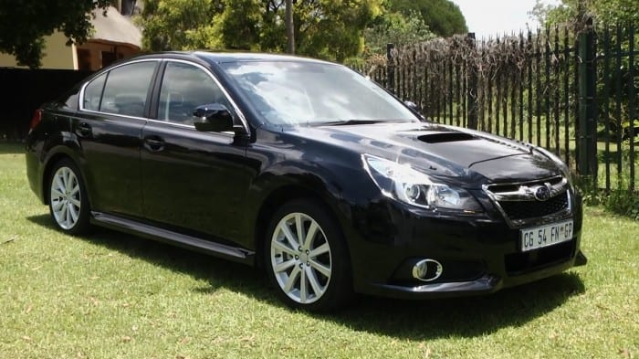 Subaru Legacy Side - Surf4cars