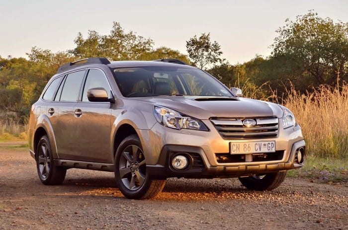 Subaru Outback Front - Surf4cars