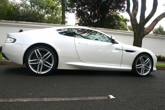 Aston Martin Virage Rear Side - Surf4cars