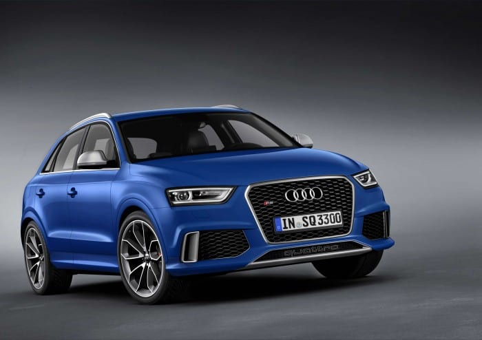 Audi Q3 RS Blue - Surf4cars
