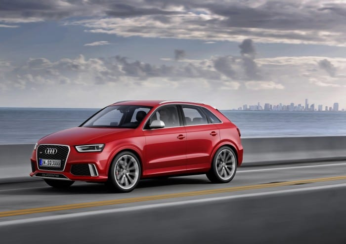 Audi Q3 RS Side - Surf4cars