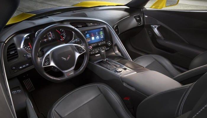 Chevrolet Corvette Z06 Interior - Surf4cars