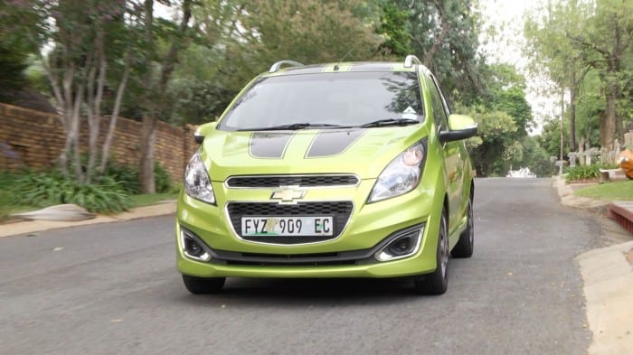 Chevrolet Spark Driving - Surf4cars