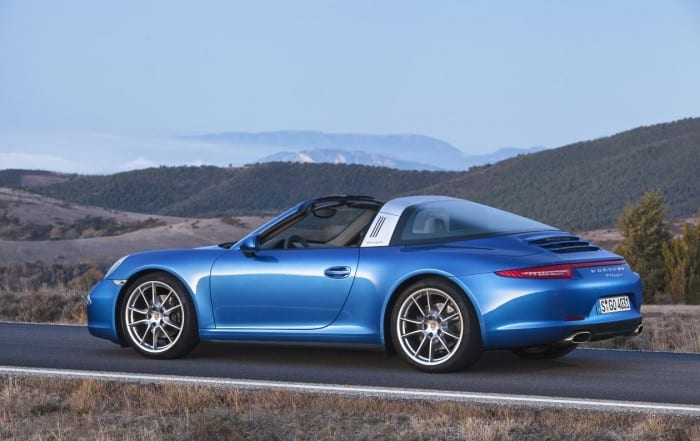 Porsche 911 Targa Side - Surf4cars