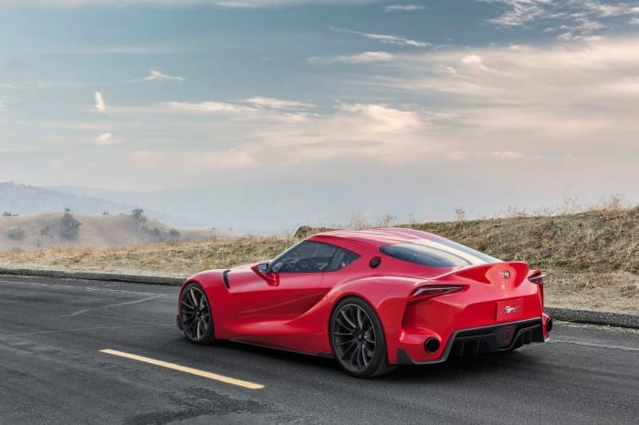 Toyota FT-1 Rear Side - Surf4cars