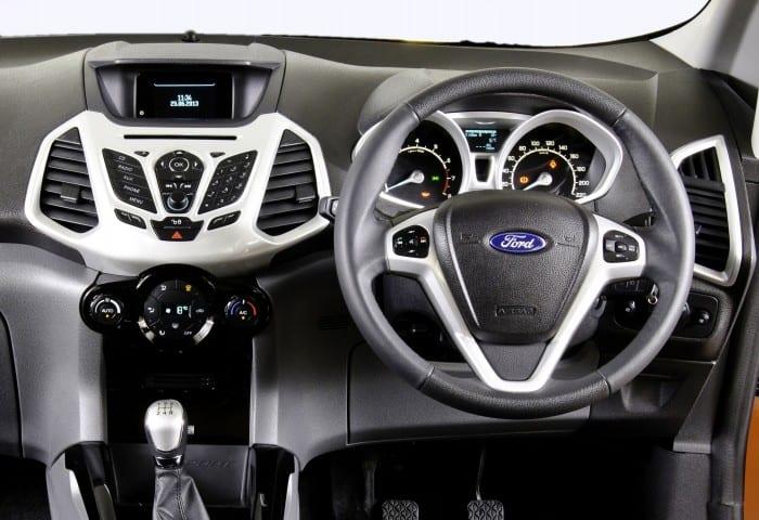Ford EcoSport Interior - Surf4cars