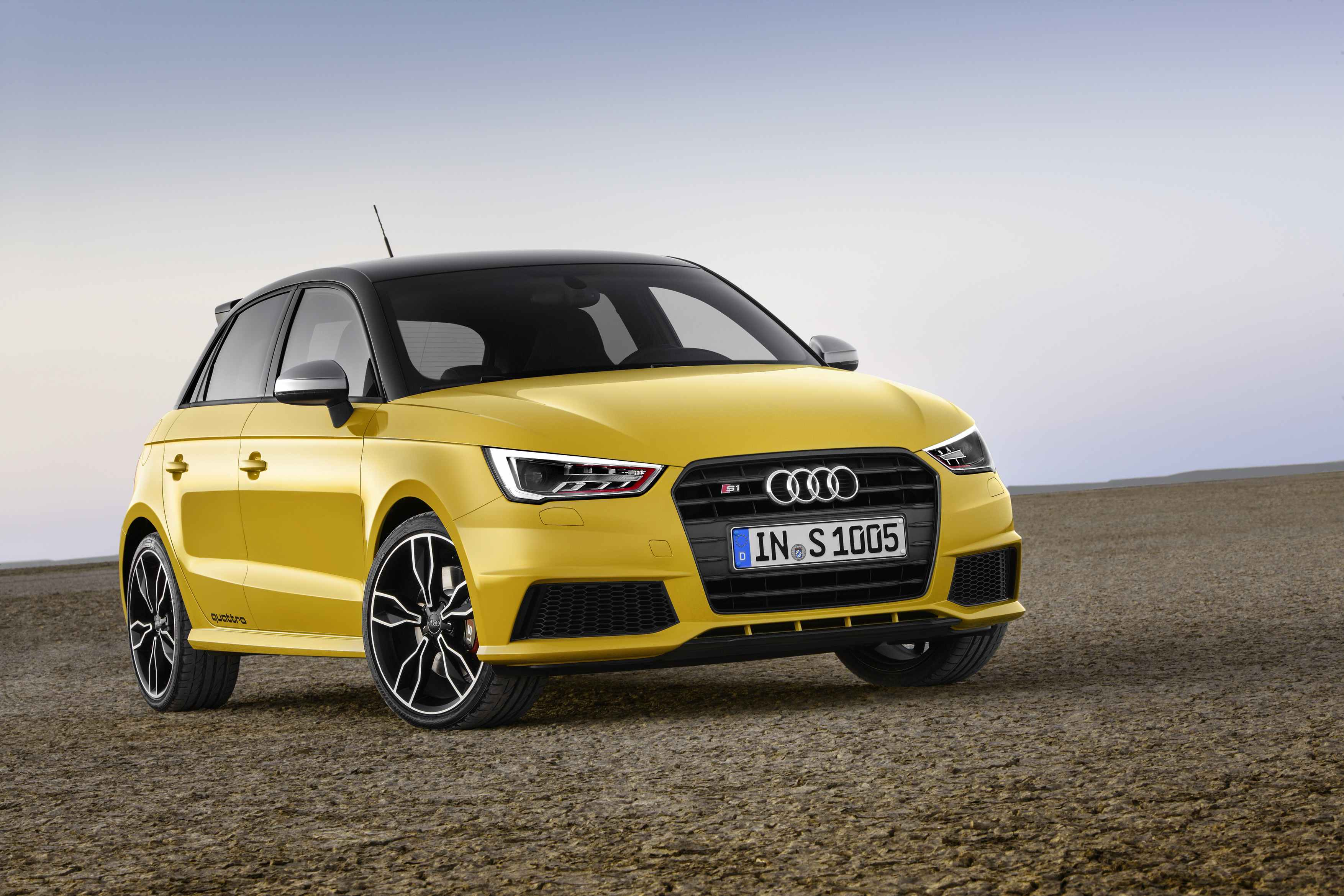 Beastly Baby Audi Breaks Cover: Latest News