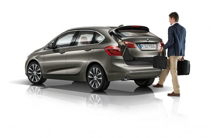 BMW 2-Series Active Tourer boot - Surf4cars