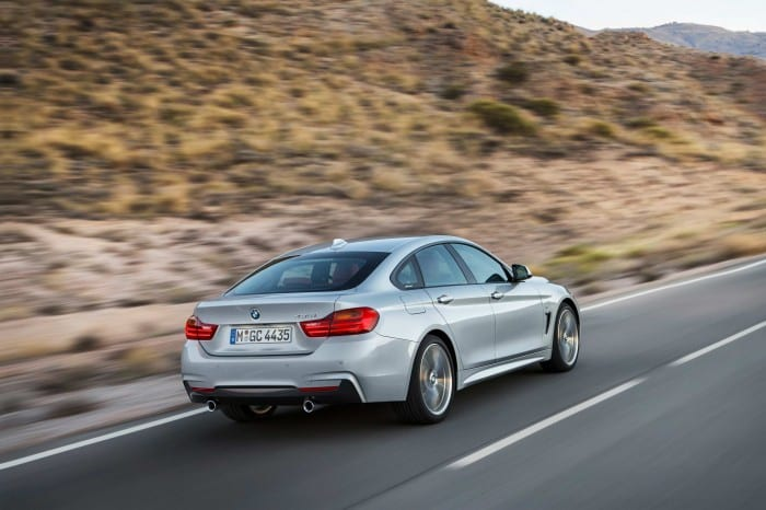 BMW 4-Series Coupe Rear Right - Surf4cars