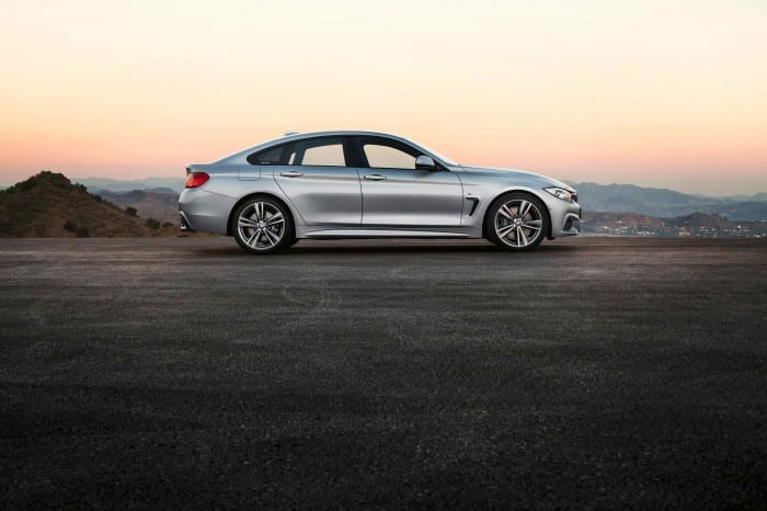 BMW 4-Series Coupe Side - Surf4cars