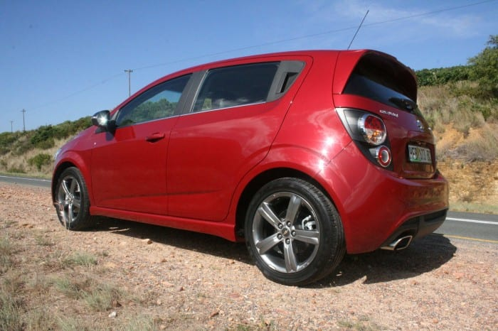 Chevrolet Sonic RS Rear - Surf4cars