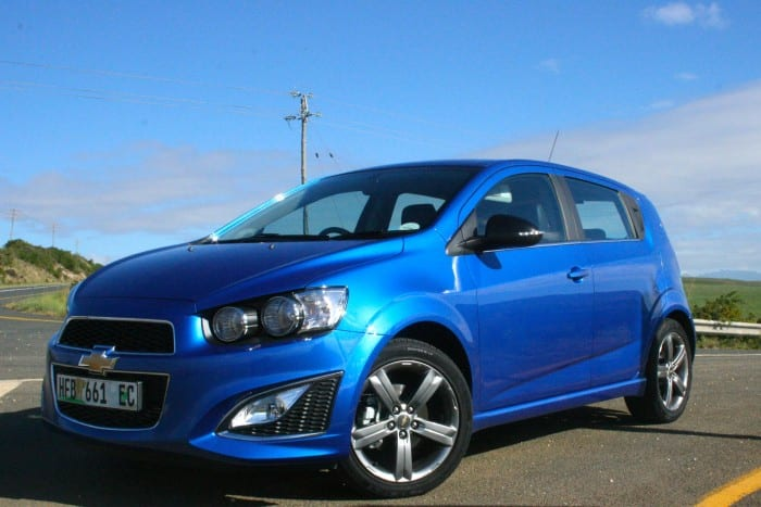 Chevrolet Sonic RS Side - Surf4cars