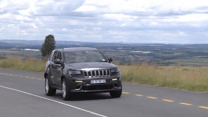 Jeep Grand Cherokee SRT Front - Surf4cars