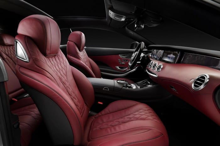 Mercedes-Benz S-Class Coupe Interior - Surf4cars