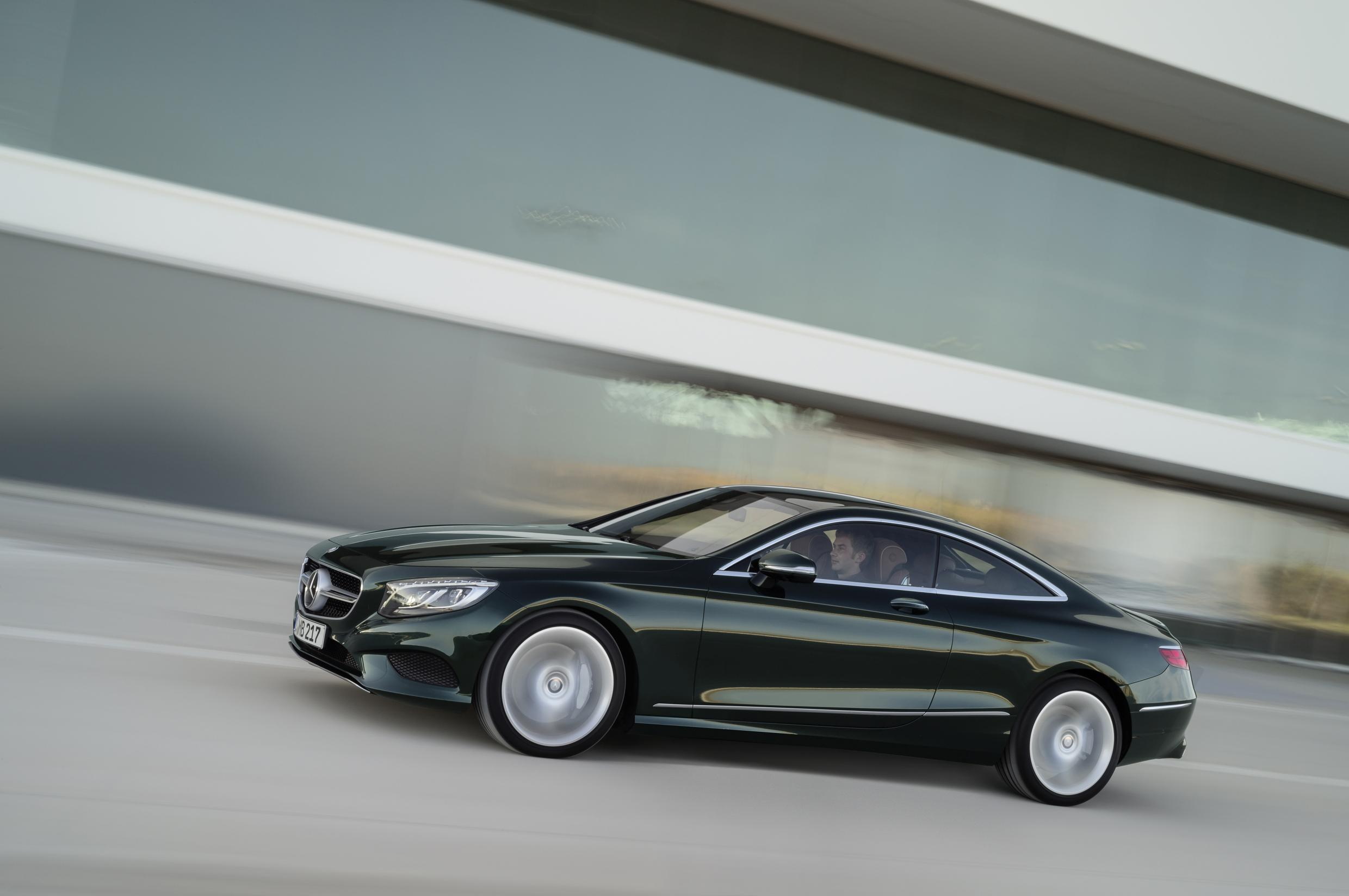 Sexy New S-Class Coupe: Latest News