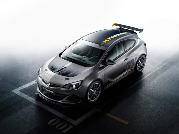 Opel Astra OPC Extreme Aerial View - Surf4cars