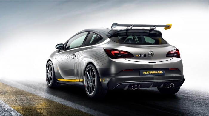 Opel Astra OPC Extreme Rear - Surf4cars