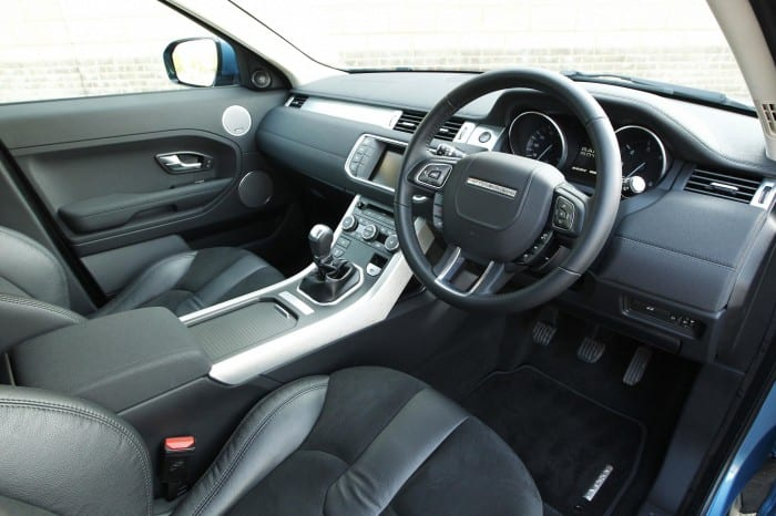 Range Rover Evoque Interior - Surf4cars