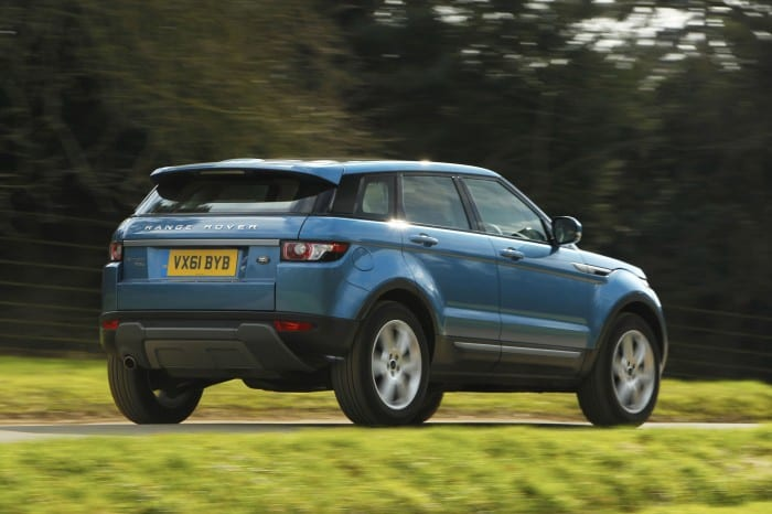 Range Rover Evoque Rear Side - Surf4cars