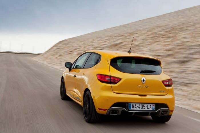 Renault Clio RS Rear Motion - Surf4cars
