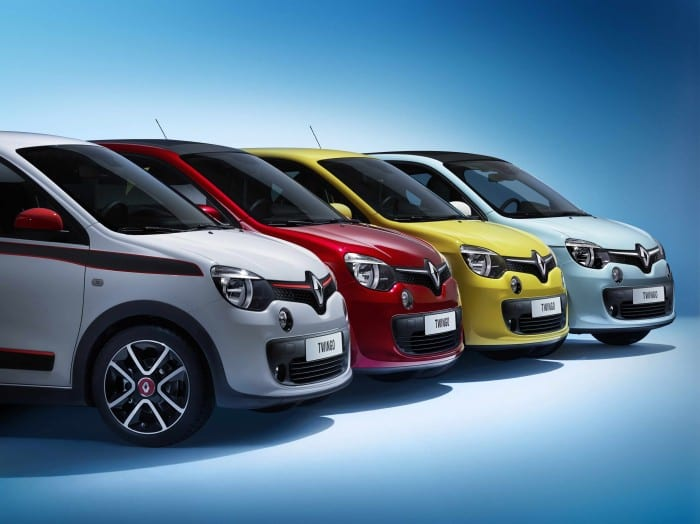 Renault Twingo Front - Surf4cars