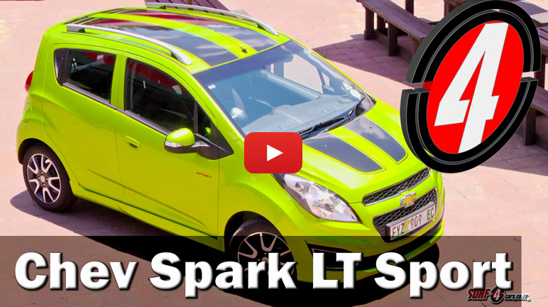 Chevrolet Spark LT (2014): Video Review