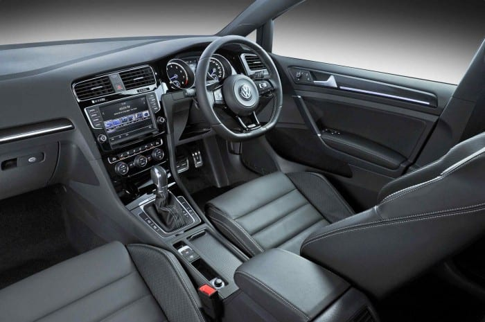Volkswagen Golf R Interior - Surf4cars
