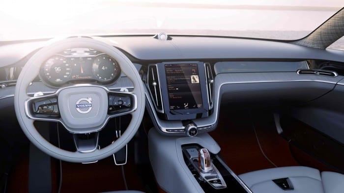 Volvo Concept Estate Interior - Surf4cars