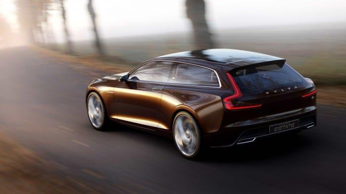 Volvo Concept Estate Rear - Surf4cars