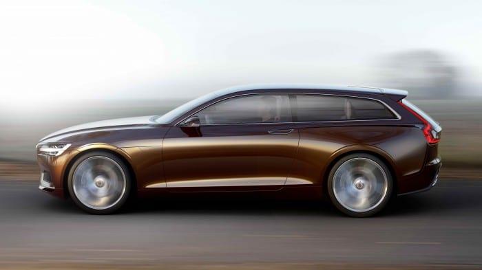 Volvo Concept Estate Side - Surf4cars