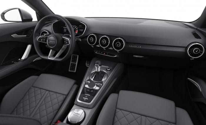 Audi TTS Interior - Surf4cars