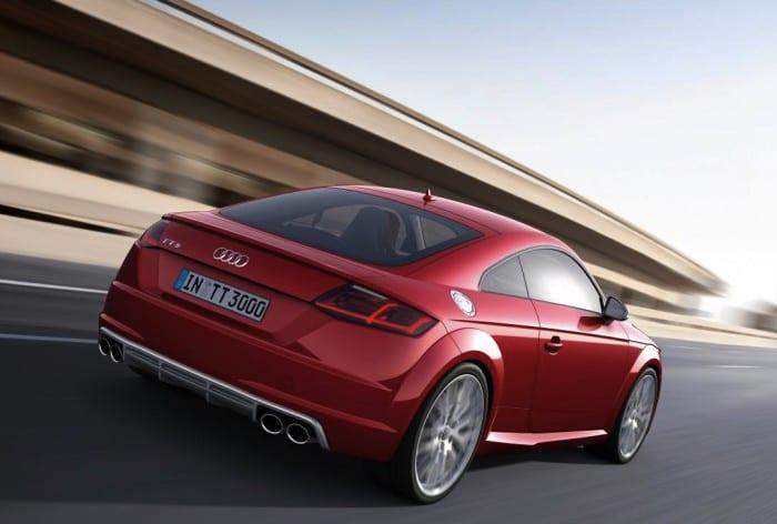 Audi TTS Rear - Surf4cars
