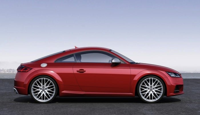 Audi TTS Side - Surf4cars