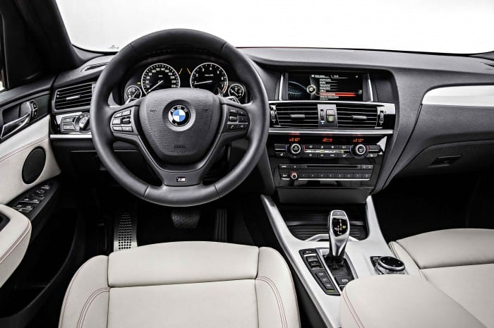 BMW X4 Interior - Surf4cars